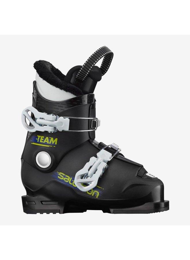 Kids Alp. Team T2 SkiBoot:Blk/Whi