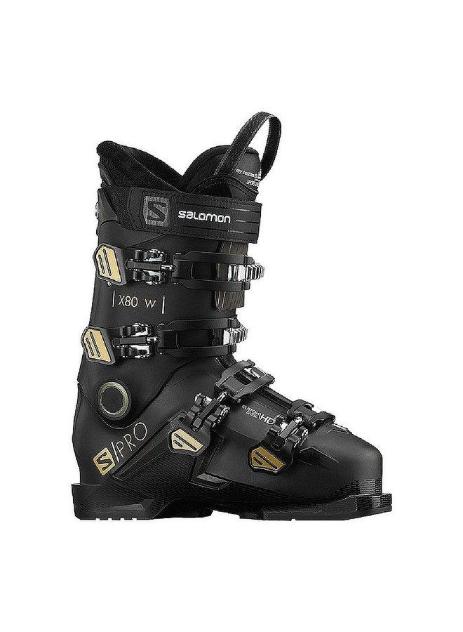 Wmns Salmon Alp. Boots S/Pro X80 W CS Blk/Bell