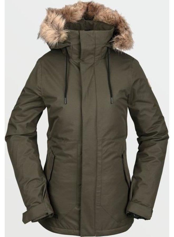 Volcom Women's Fawn Insulated Winter Jacket -