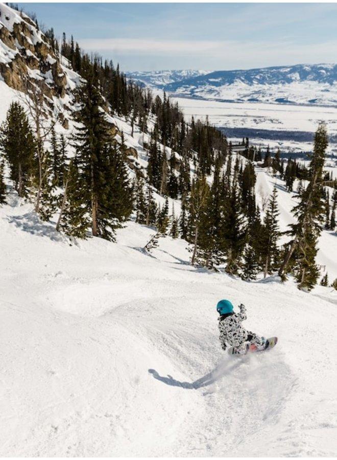 Girls' Burton Chicklet Flat Top Snowboard