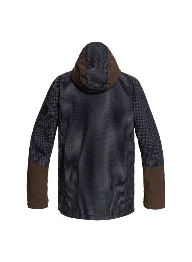DC Men's Defiant Snowboard Jacket - Wren (Medium)