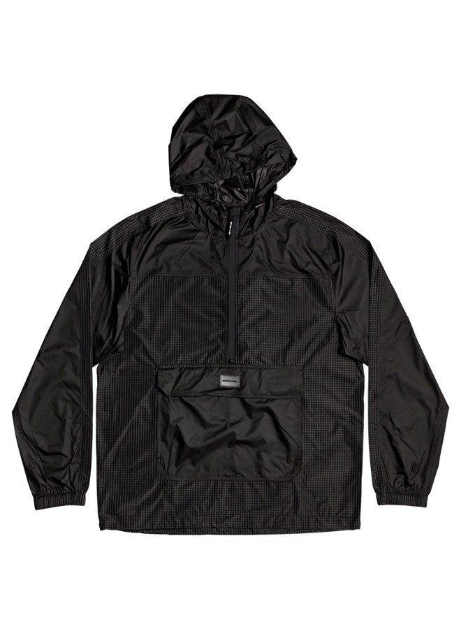 DC Men's Field Water-Resistant Anorak (black)- Medium
