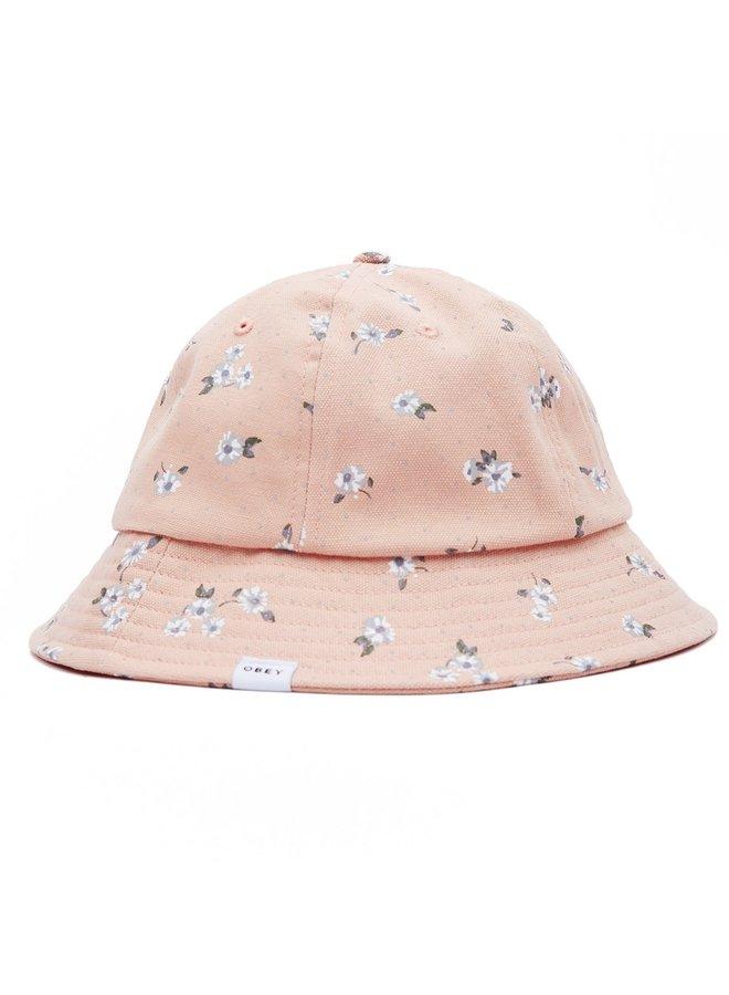 Obey Women's Lebra Bucket Hat-Peach Multi