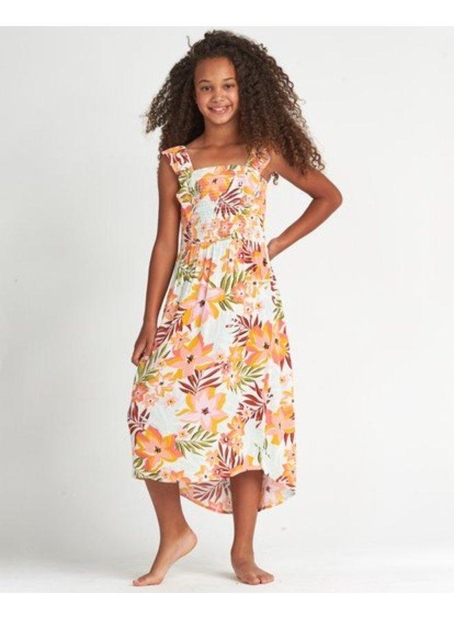 Billabong Girls Tripped On Love Maxi Dress-Tropical