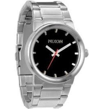 NIXON WATCHES CANNON: BLACK