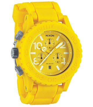 RUBBER 42-20 CHRONO YELLOW