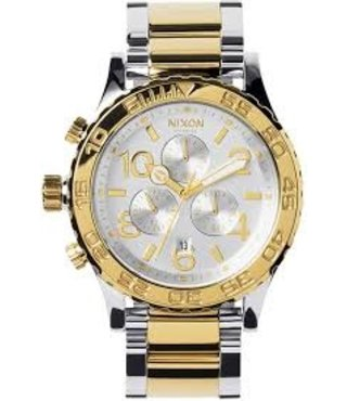42-20 CHRONO: CHAMPAGNE GOLD