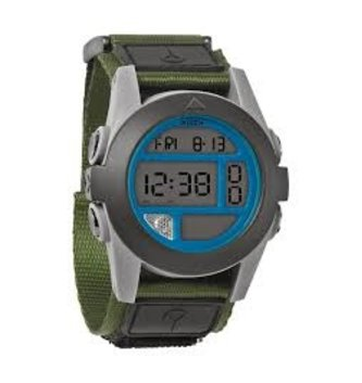 NIXON WATCHES BAJA: SURPLUS/GRAY/BLUE
