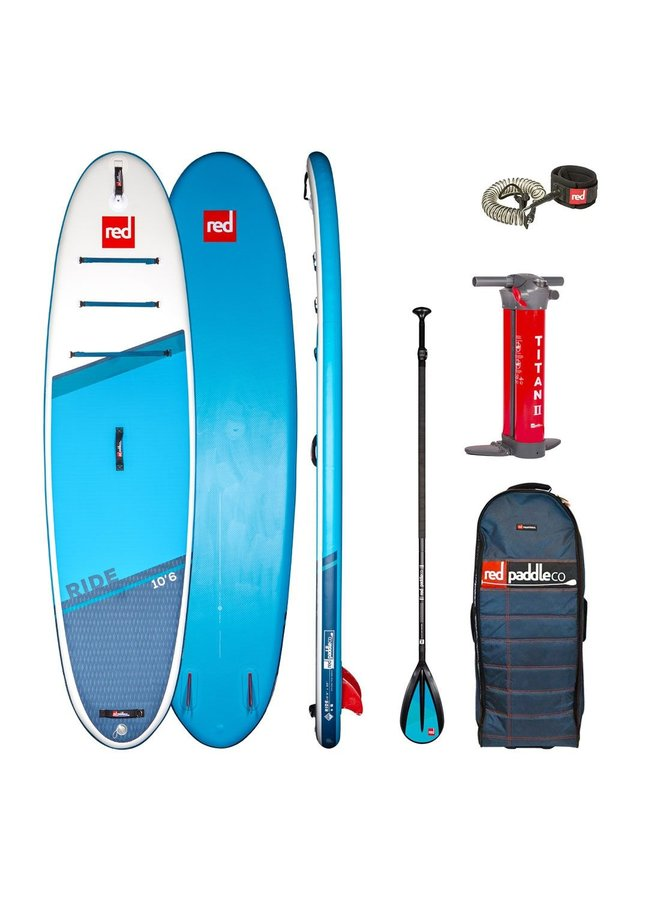2021 Red 10'6 Ride Alloy 3pc Package