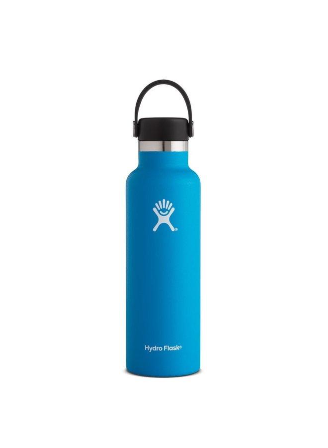 Hydroflask 21 OZ standard Mouth Flex Cap: Cobalt