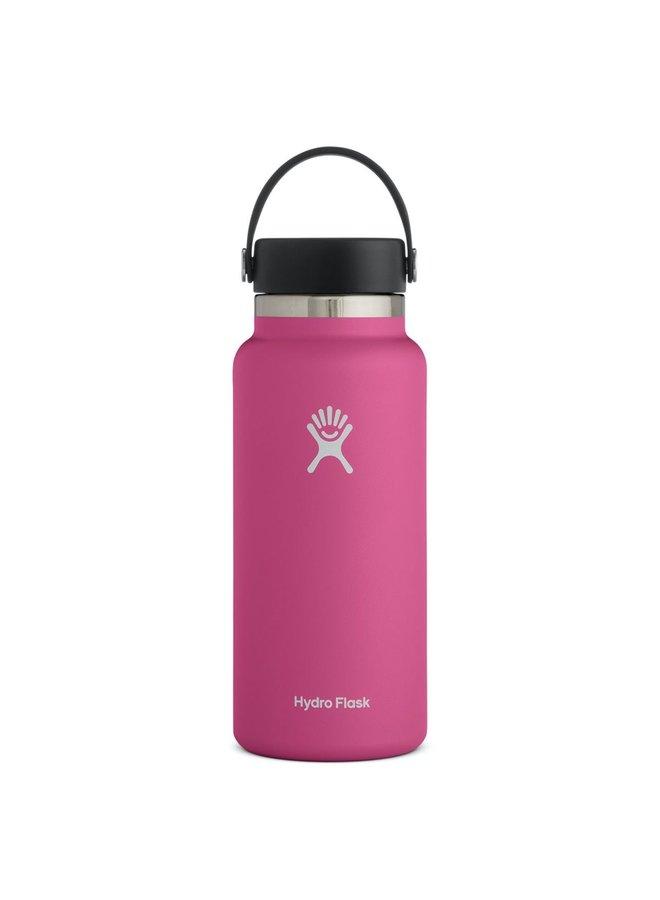 Hydroflask 32 oz Wide Flex Cap: Carnation