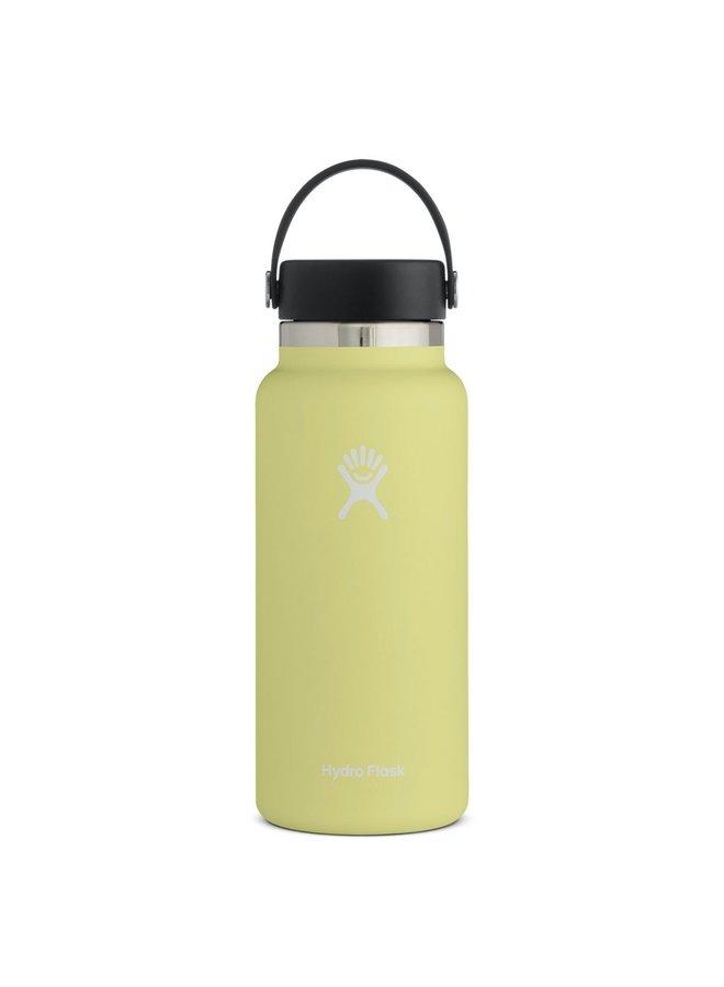 Hydroflask 32 oz Wide Flex Cap: Pineapple