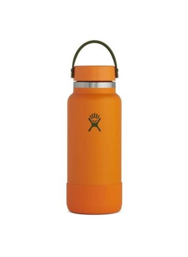 Hydroflask 32 oz Wide Flex Cap: Clemintine