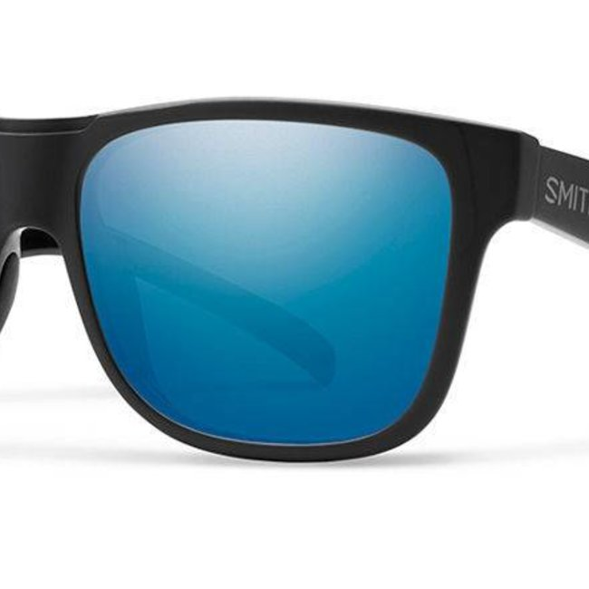 cad3dcb9 SMITH OPTICS LOWDOWN XL SALTY CREW MATTE BLACK POLARIZED BLUE MIRROR ...