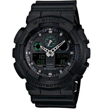 GSHOCK WATCHES GS-GA100MB-1A Big case series basic black