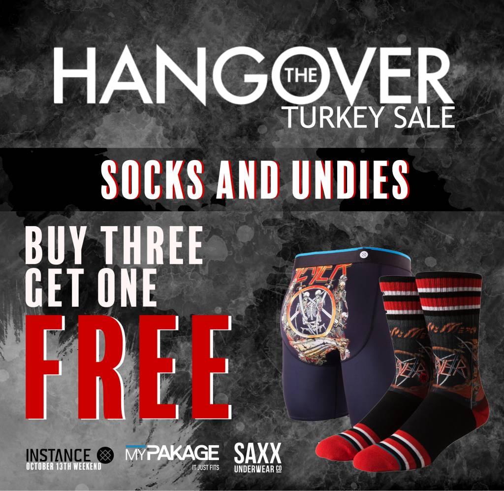 TURKEY HANGOVER SALE