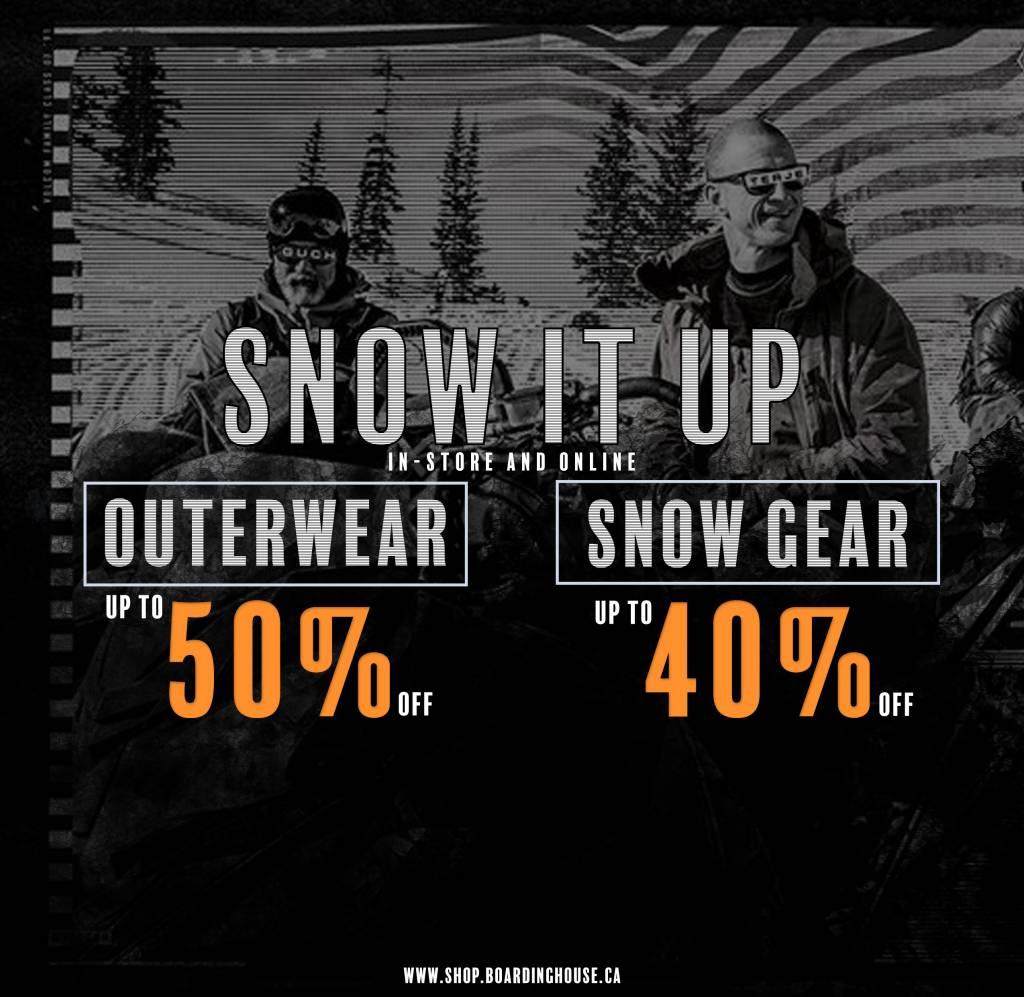 SNOW IT UP