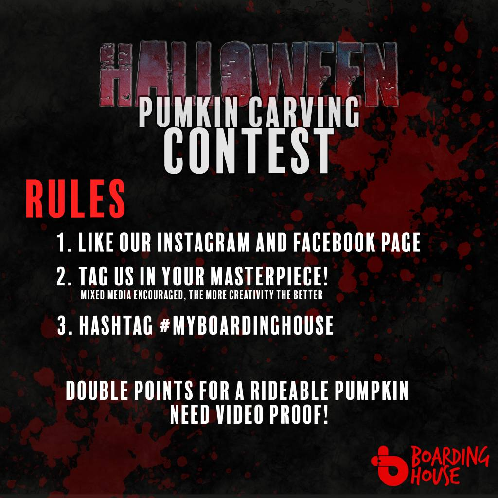 HALLOWEEN CARVING CONTEST RULES