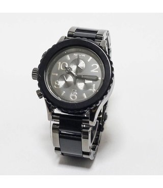 42-20 CHRONO: GUNMETAL/BLACK