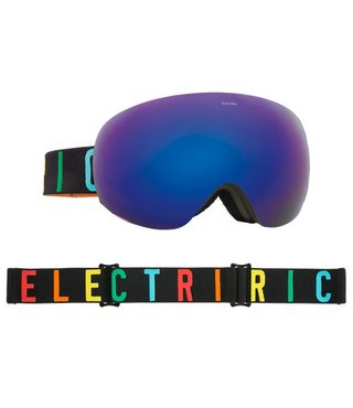EG2 GOGGLE: COLOR WORDKMARK BROSE/BLUE CHROME