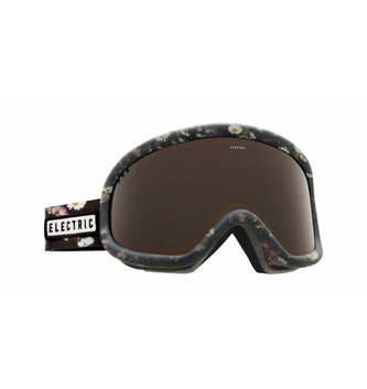 ELECTRIC CHARGER GOGGLE: DARK FLORAL BROSE