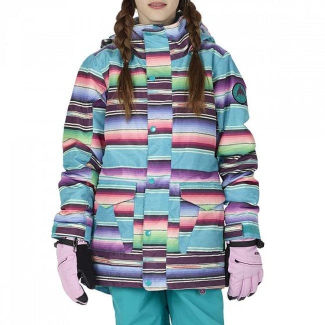 bd92df1358 BURTON SNOWBOARDS GIRLS ELSTAR PRK JK MIJITA STRIPE (M)