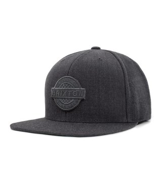 SPEEDWAY SNAPBACK CHARCOAL HEATHER