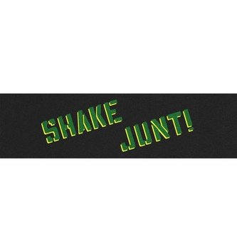 SHAKE JUNT SJ SPRAYED GREEN & YELLOW GRIPTAPE