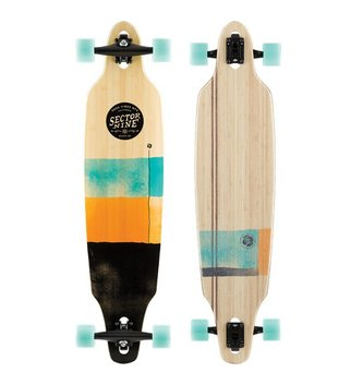 SECTOR 9 LONGBOARDS SECTOR 9 - BAMBOO GEO LOOKOUT (41.1 X 9.6)