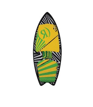"3' 9"" Ronix Kids Super Sonic Space Odyssey Fish Wakesurfer"