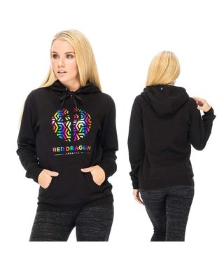 RDS WOMENS HOOD RAINBOW