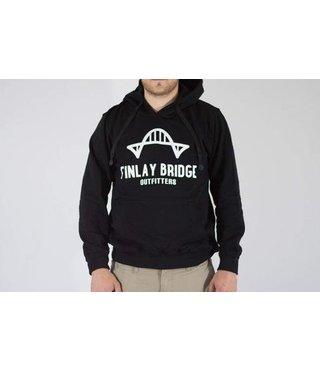 FINLAY BRIDGE BLACK HOODIE