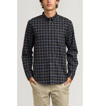 RVCA THAT'LL DO PLAID SS