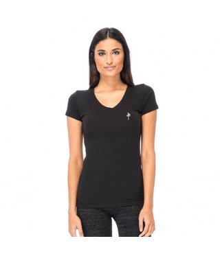 RDS WOMENS V-NECK TEE ROLO