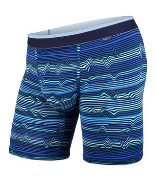 CLASSICS BOXER BRIEF WARP STRIPE/BLUE M