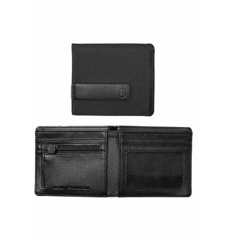 NIXON WATCHES Showdown Bi‐Fold Zip Wallet