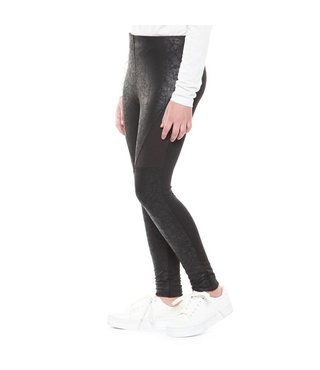 COATED MOTO LEGGING