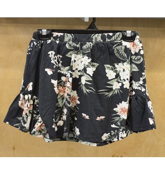 DEX JEANS PRINTED PULL ON SKORT