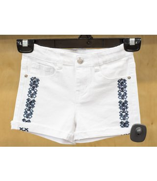 SIDE EMBROIDERED SHORT