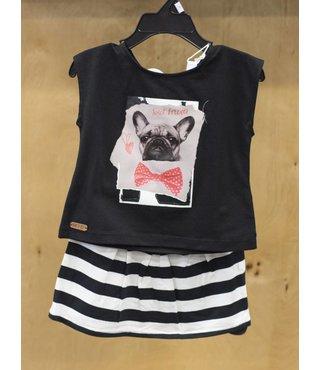 1182262 2 pcs set: top & skirt
