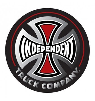 INDEPENDENT TRUCK CO. INDEPENDENT DECAL ASSORTED  3in