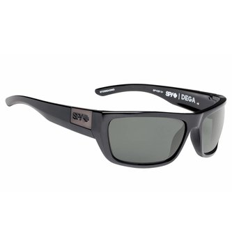 SPY OPTICS DEGA BLACK ANSI RX-HAPPY GREY GREEN