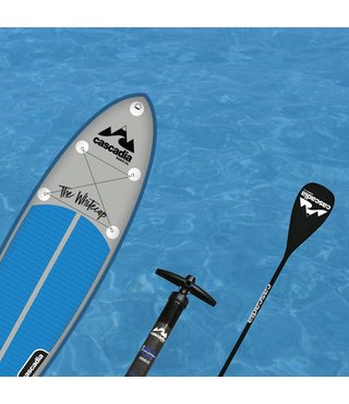 10' WHITECAP W/ 3pc CARBON PADDLE