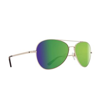 SPY OPTICS WHISTLER GOLD - HAPPY BRONZE W/ GREEN SPECTRA