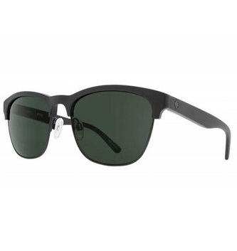 SPY OPTICS LOMA MATTE BLACK/BLACK - HAPPY GRAY GREEN