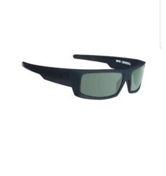 SPY OPTICS GENERAL SOFT MATTE BLACK - HAPPY GRAY GREEN