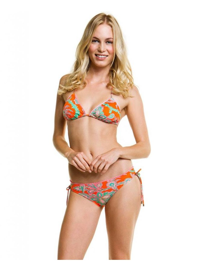 AMBER TIE SIDE LOW BOTTOMS
