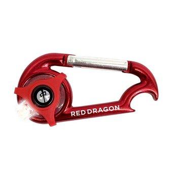 Red Dragon Apparel LIGHT CARABINER W/ BOTTLE OPENER