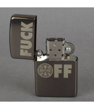 INDEPENDENT LIGHTER FUCK OFF