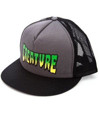 CREATURE TRUCKER  HAT LOGO